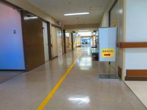 医療機関の廊下の画像